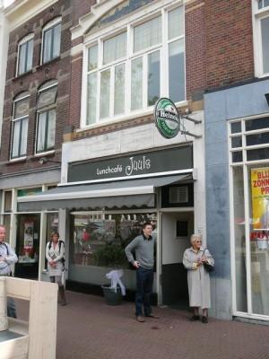 Juul's lunchroom aan de Markt in Gouda