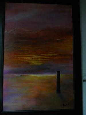 Werk van Jan Flierman 'Texel'