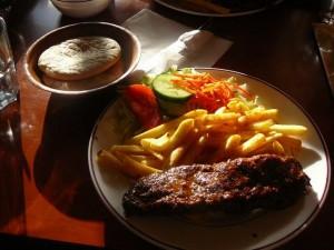 bazbo's dinner - kebab