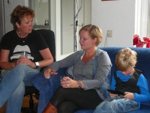 Kitty, Marieke & Cas