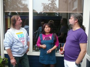 Emile, Cynthia & bazbo