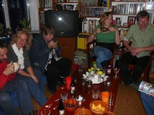 Anne, Cora, Marja, Ingrid & Robert