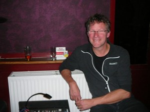 Martin as sound technician