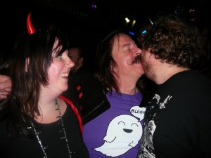 Ethell, Emile & Billy say goodbye