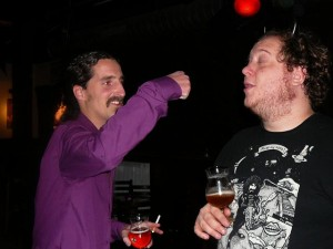 Rob knows a way to stop Billy's sneezing