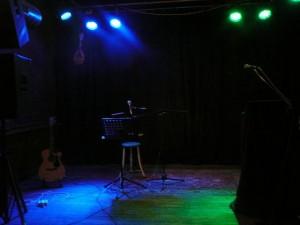 Het podium