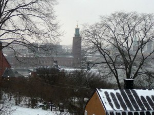 017 view from au3s appartement - Stadhuset