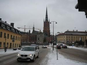 075 view on Riddarholmen Kyrka