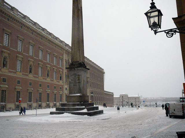 089 Slottsbacken with Kungliga Slottet