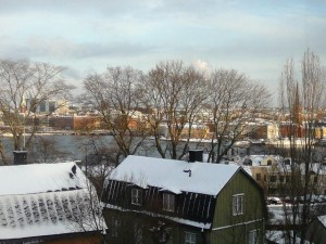 140 101126 Friday - view from au3s appartment on Gamla Stan