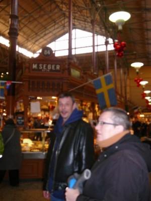 143 with BowTieDad in Östermalmshallen - Centrum