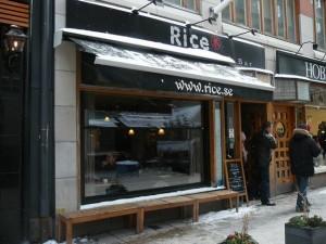 144 lunch restaurant Rice - Nybrogatan -  Centrum