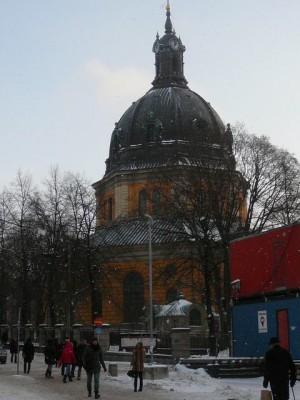 151 Hedwig Eleonora Kyrke - Östermalmstorg - Centrum