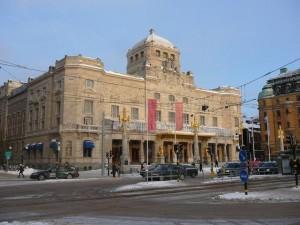 152 Kungli Dramatiska Teatern - Nybroplan - Centrum