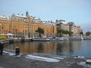 154 view on Strandvagen - Centrum