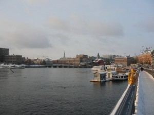 162 view from Skeppsholmbron onto the Norrström
