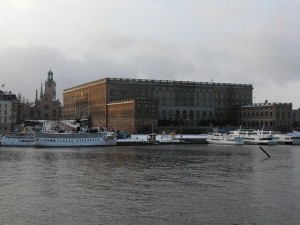 163 Slottsbacken and Kungliga Slottet