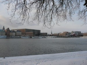 165 view from Skeppsholmen to Gamla Stan and Centrum
