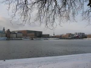 165 view from Skeppsholmen to Gamla Stan and Centrum