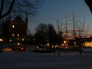 178 Skeppsholmen with af Chapman ship
