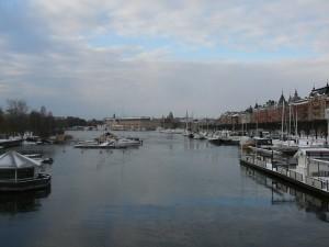 195 view from Djurgardsbron on Gamla Stan and Strandvagen