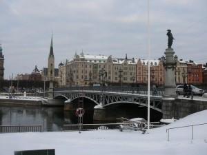 196 Djurgardsbron and Strandvagen