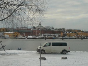 205 view from Vasa Museet to Skeppsholmen with Moderna Museet