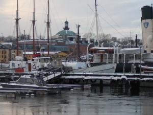 217 harbour and Skeppsholmen