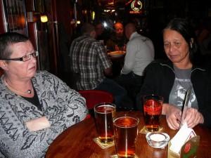235 with au3 in Oliver Twist pub