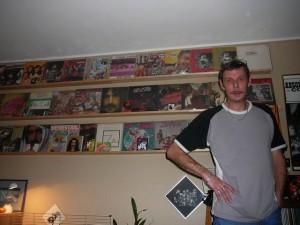 241 BowTieDad and his FZ vinyl collection