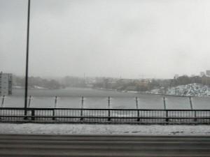 269 on the bus to Skavsta Airport - Riddarfjärden