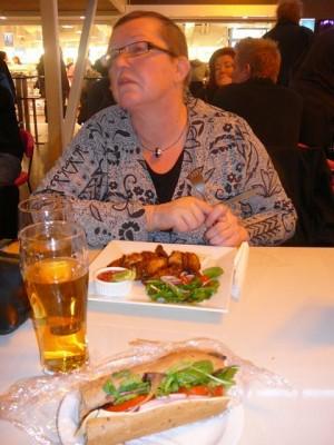 276 dinner at Skavsta Airport
