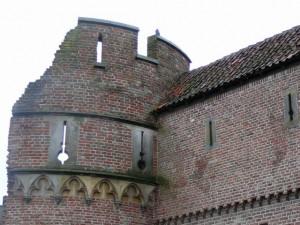 Zwolle - deel van de oude stadsmuur