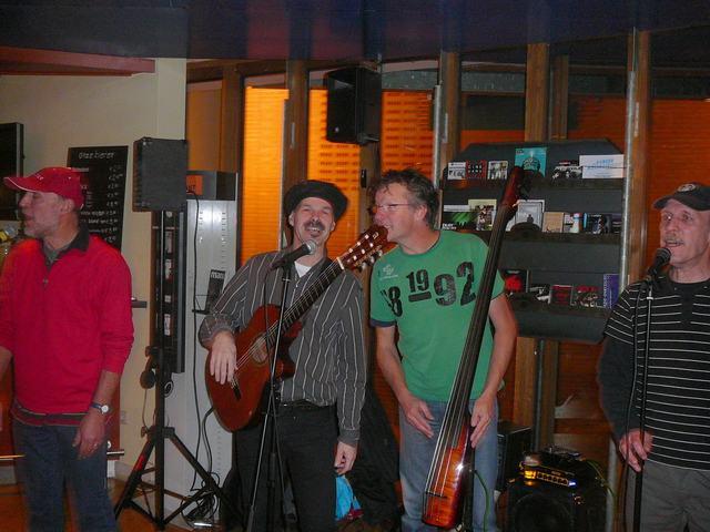 The Bottles: Hans, Lex, Martin & Paul