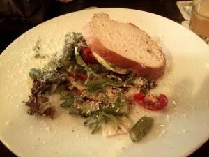 07 b lunch - broodje groene asperges