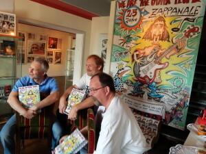 133 Robert Dieter Burkhardt present their Zappanale book