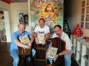 134 Robert Dieter Burkhardt present their Zappanale book