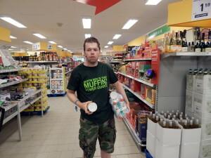 359 Luuk in Netto supermarket