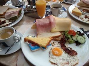 50 b breakfast