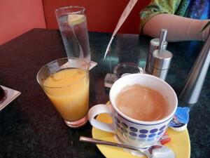 580 b breakfast drinks