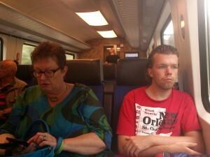 003 trein naar Gouda