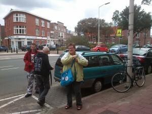 011 aankomst in Scheveningen