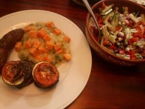 38 140814 groentetorentjes en prei+zoeteaardappel