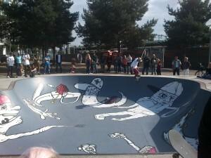 08 jongerenevenement op het Stationsplein