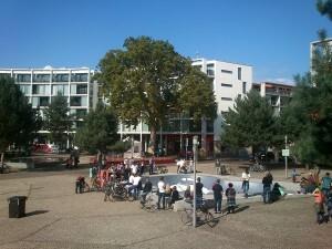 10 jongerenevenement op het Stationsplein