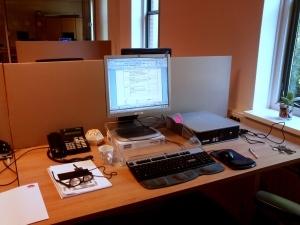 44 141003 Schaarsbergen - nieuwe werkplek