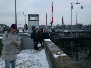 06 hidihi E Auke op de Sint Servaasbrug