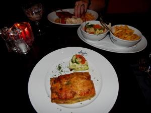163 lasagne en kipsaté