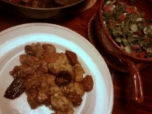 060 chorizo kip rode en gele wortel bloemkool
