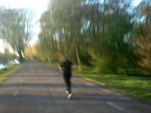 138 150501 hardlopen langs het kanaal